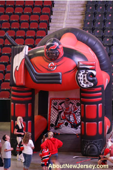 NJ Devils Inflatable Hockey