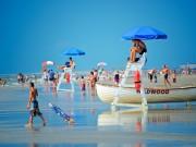 Wildwoods Lifeguard Stand and Beach