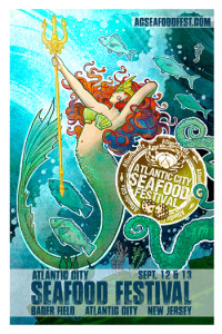 2015 Atlantic City Seafood Festival Poster 2015