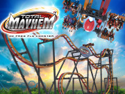 Total Mayhem: 40 Free Fly Coaster - Six Flags Great Adventure