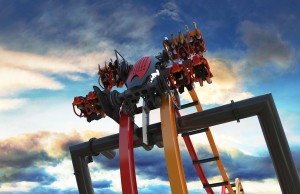 "Six Flags Great Adventure's ""Total Mayhem"""