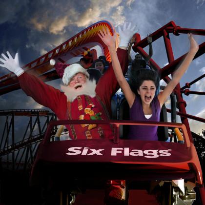 Holiday in the Park - Santa on Coaster