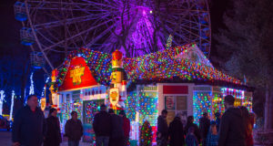 Holiday in the Park - Santas House in North Pole