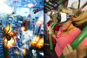 Six Flags Great Adventure Drop of Doom VR