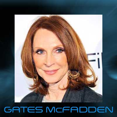 Gates McFadden - Dr. Crusher Of Star Trek: The Next Generation