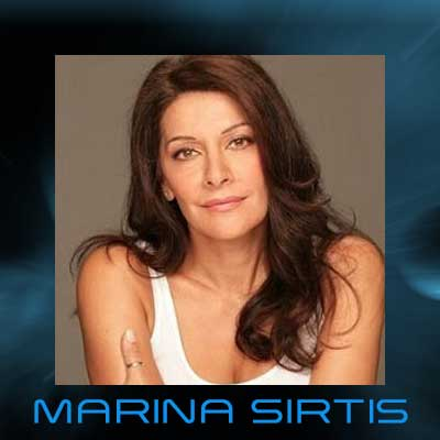 Marina Sirtis - Counselor Troi Of Star Trek: The Next Generation
