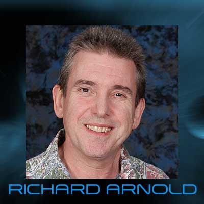 Richard Arnold - Gene Roddenberry's Right Hand Man For Over 15 Years.