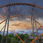 Jersey Devil Coaster - Six Flags Great Adventure - 180 Degree Stall