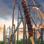 Jersey Devil Coaster - Six Flags Great Adventure - 180 Degree Stall 2