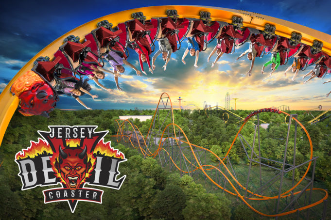Jersey Devil Coaster - Six Flags Great Adventure